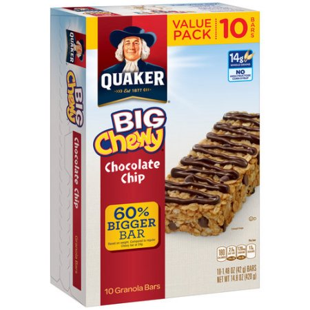 Total Carbs For A Chocolate Granola Bar