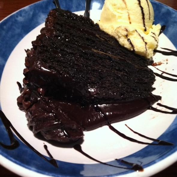 Red Lobster Chocolate Wave Cake Calories