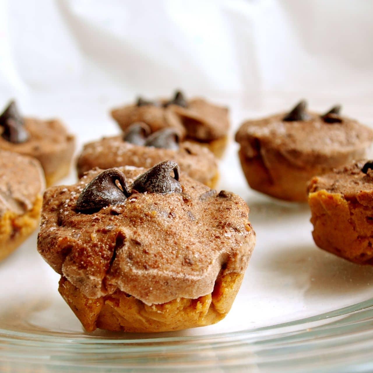 cookie dough minis from yogurtland