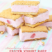 Frozen Yogurt Bars – Strawberry Banana