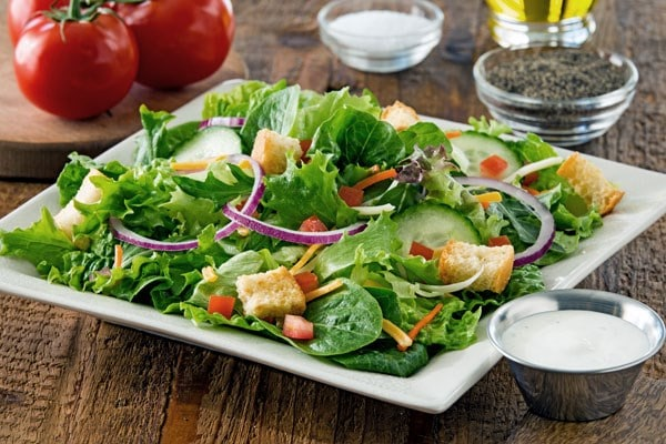 House Salad No Dressing Side From Chili S Nurtrition