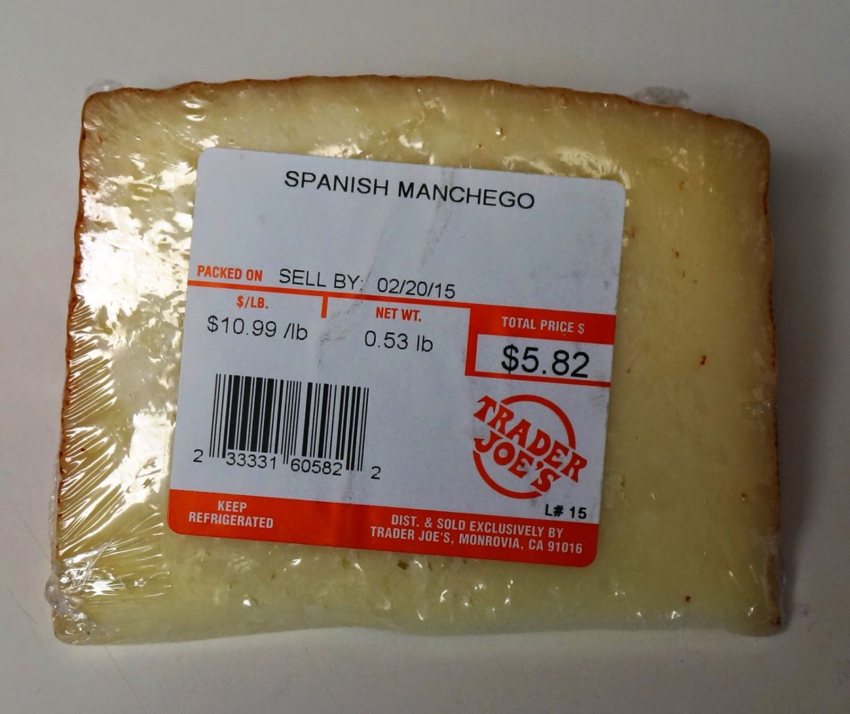 manchego cheese calories