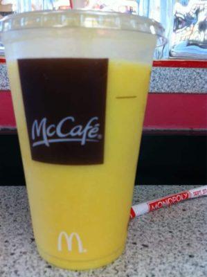 Mango Pineapple Smoothie (Medium)