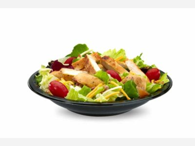Premium Bacon Ranch Salad with Grilled Chicken