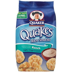 Quaker Ranch Rice Cakes