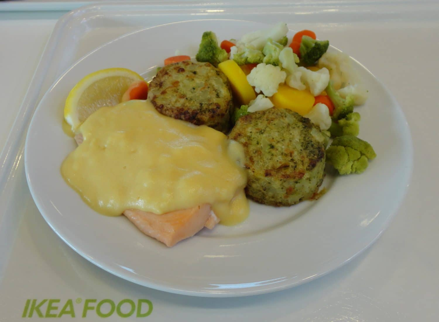 salmon fillet with hollandaise sauce from ikea nurtrition price. Black Bedroom Furniture Sets. Home Design Ideas