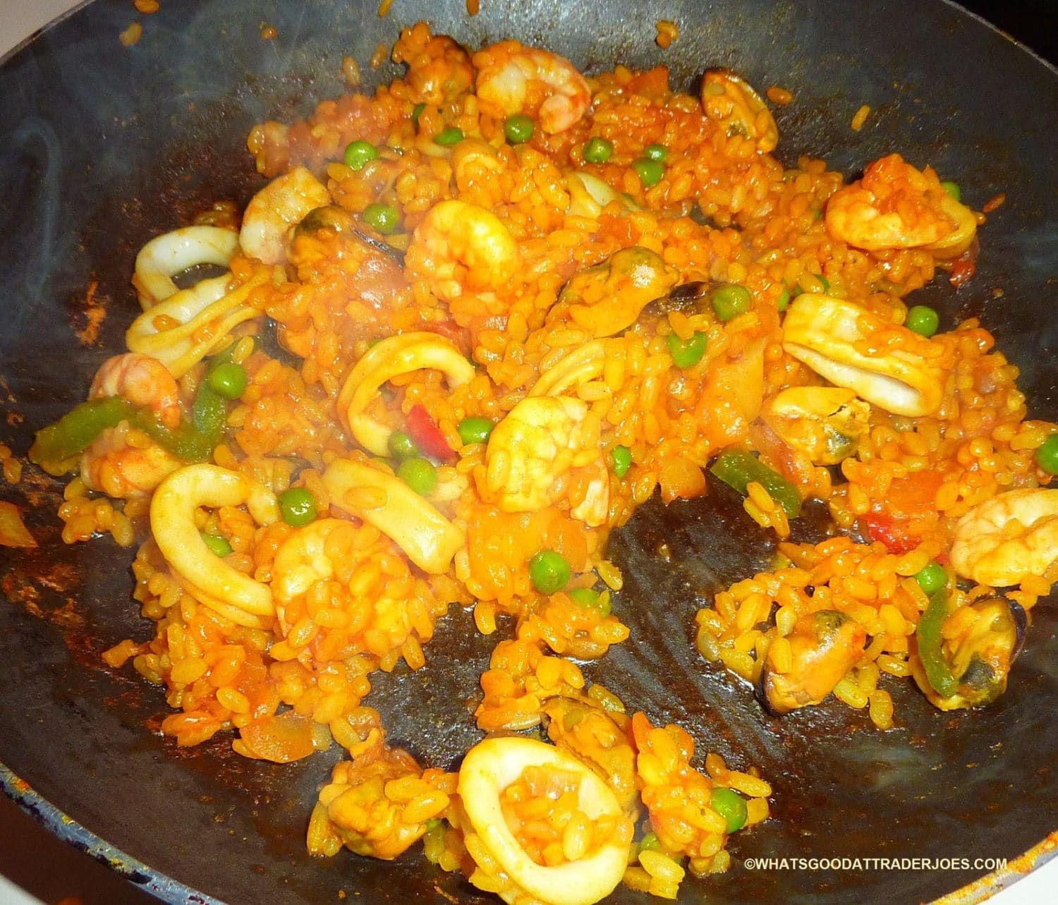 Seafood Paella from Trader Joe's | Nurtrition & Price