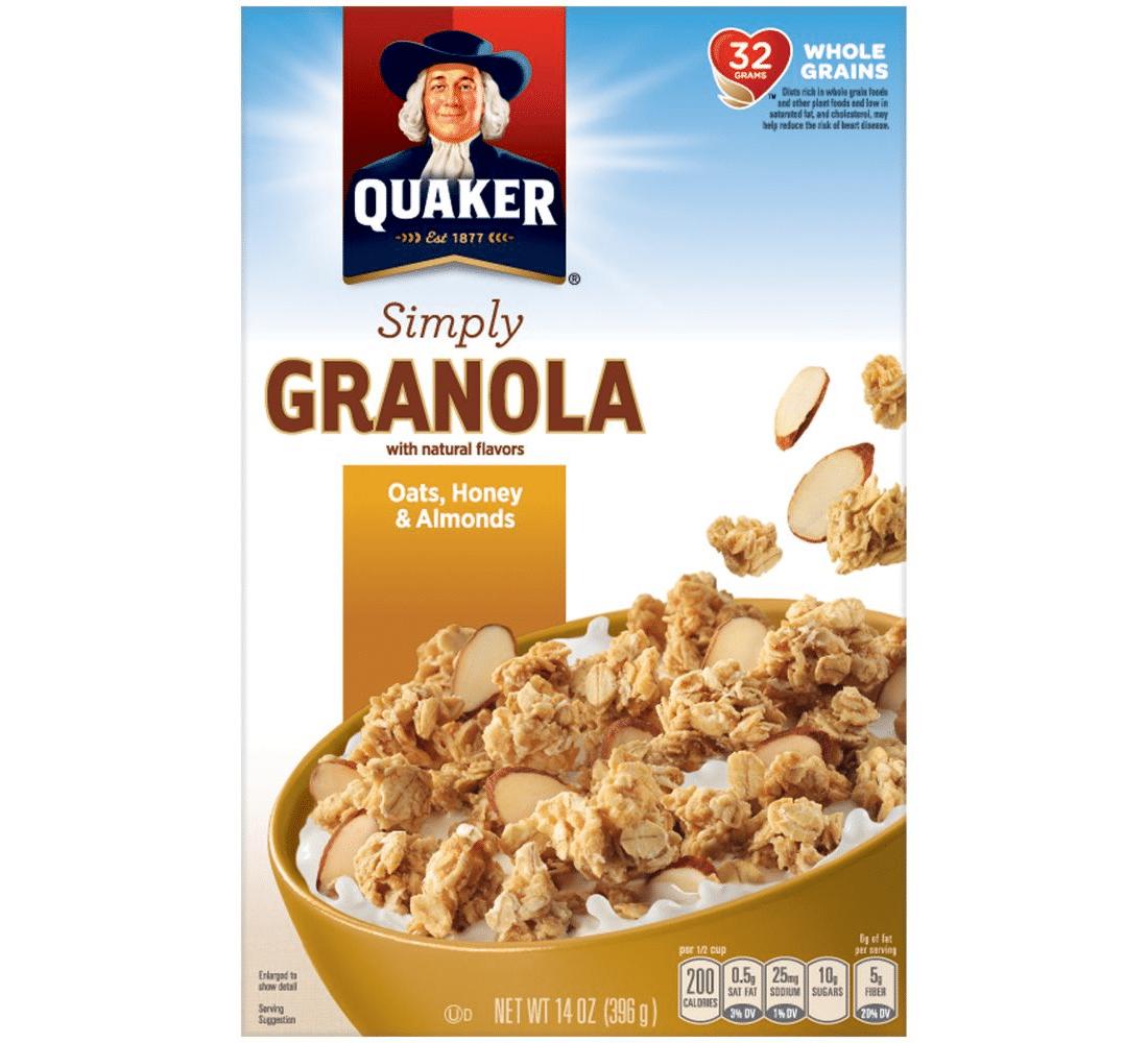 Simply Granola From Quaker