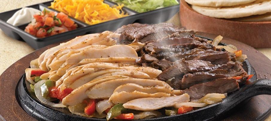 Streaker alfredo garcia fajita ground beef from moe s for Moe s fish and chicken