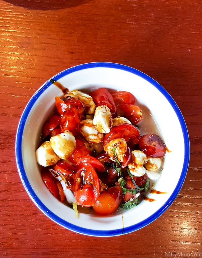 Tomato Caprese Salad from Red Lobster | Nurtrition & Price
