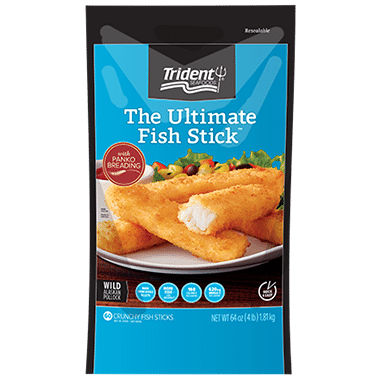Ultimate fish sticks from trident seafoods nurtrition for Trident fish sticks