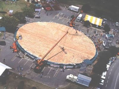 The World's Largest Pizza Weighed Over 13 Tons!